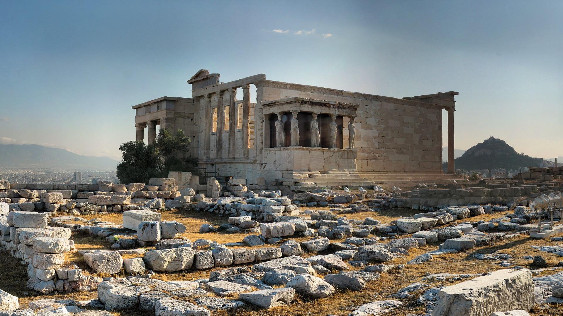 Athenes - Vue sur l'Acropole