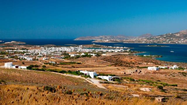 Antiparos dans les Cyclades - Vue sur la chora