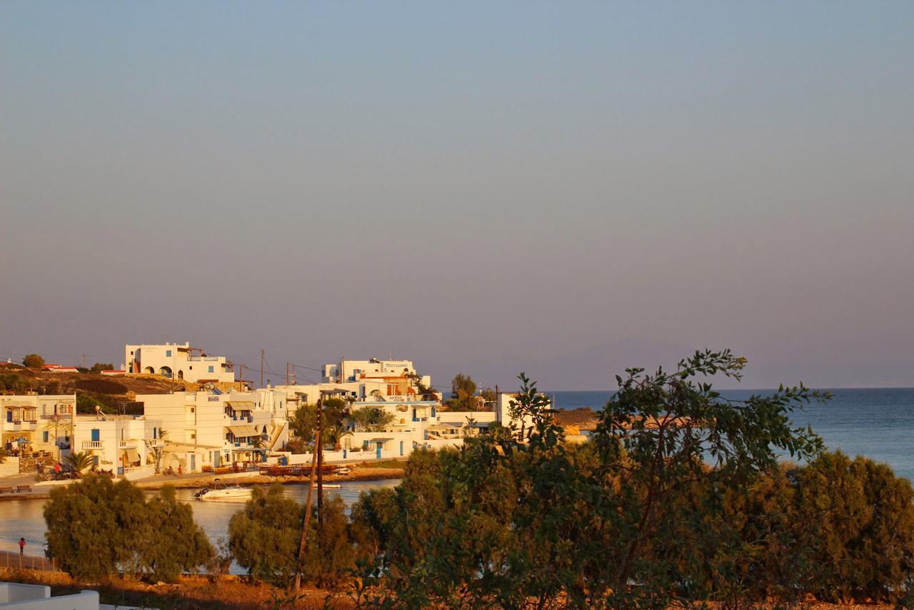 Vue sur le village de Koufounissa
