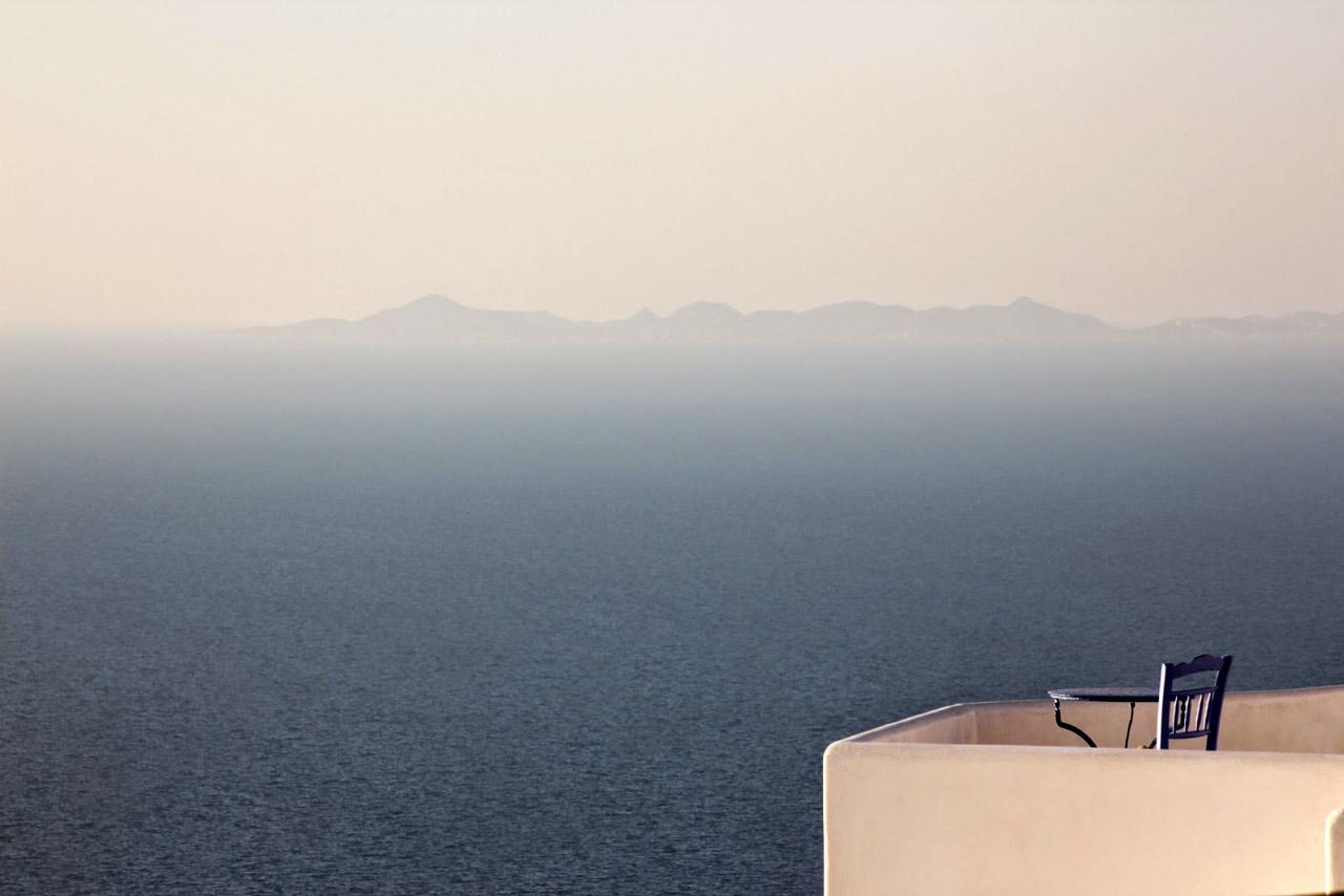 Sikinos - vue depuis le monastere de Zoodochou Pigi