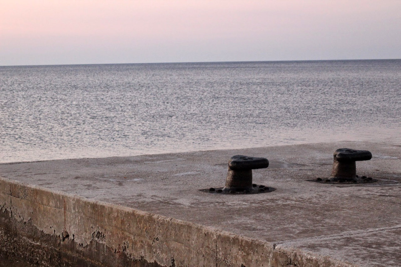 Sikinos - vue depuis le quai