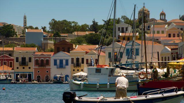 Kastelorizo - vue du port