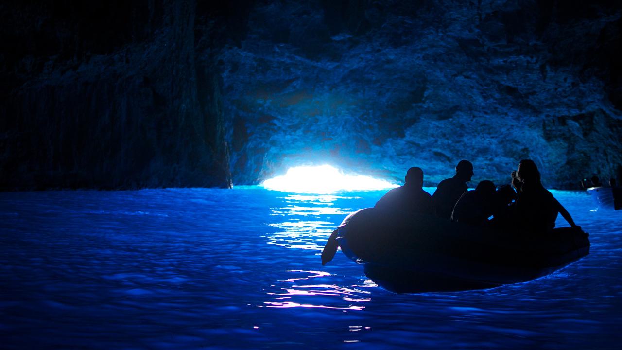 Kastelorizo - La cave bleue