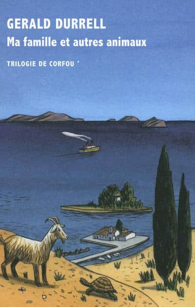 Trilogie de Corfou, Gerald Durrell
