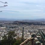 Athenes vue depui le haut du mont Lycabette