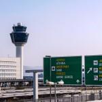 Aéroport d'Athènes en Grèce