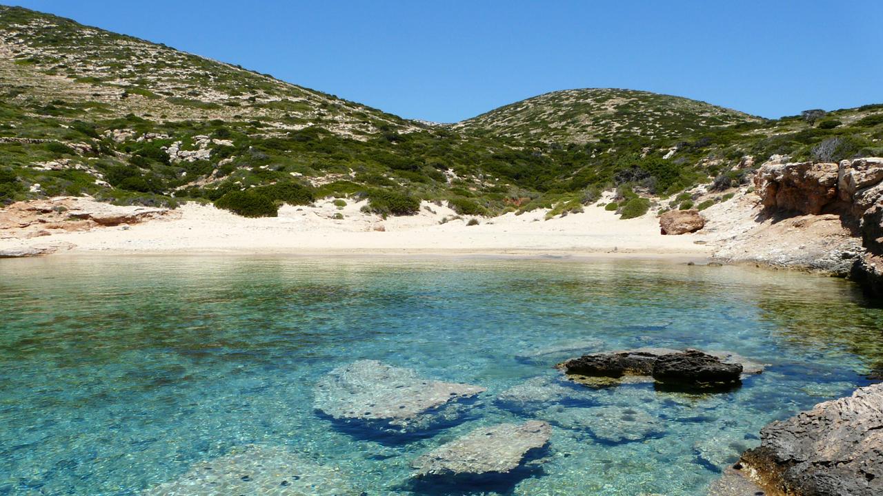 Tripiti beach, Cyclades, Grèce