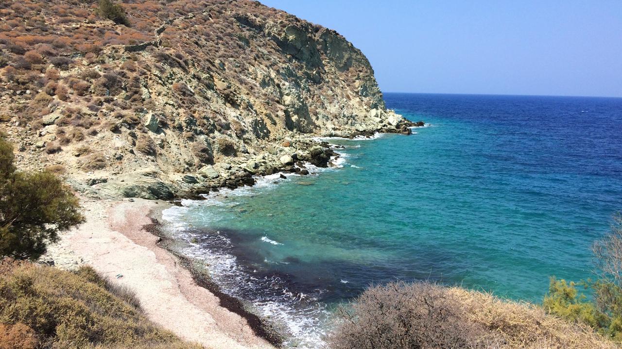 Folegandros, Cyclades, Grèce - Plage de Serfiotiko