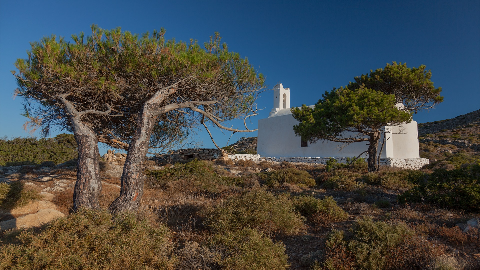Cyclades Sikinos Chapelle