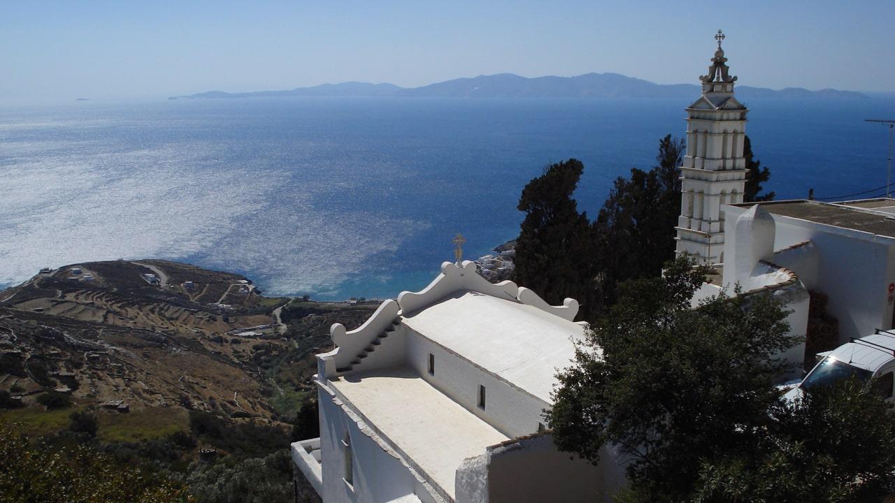 Tinos dans les cyclades, Grèce