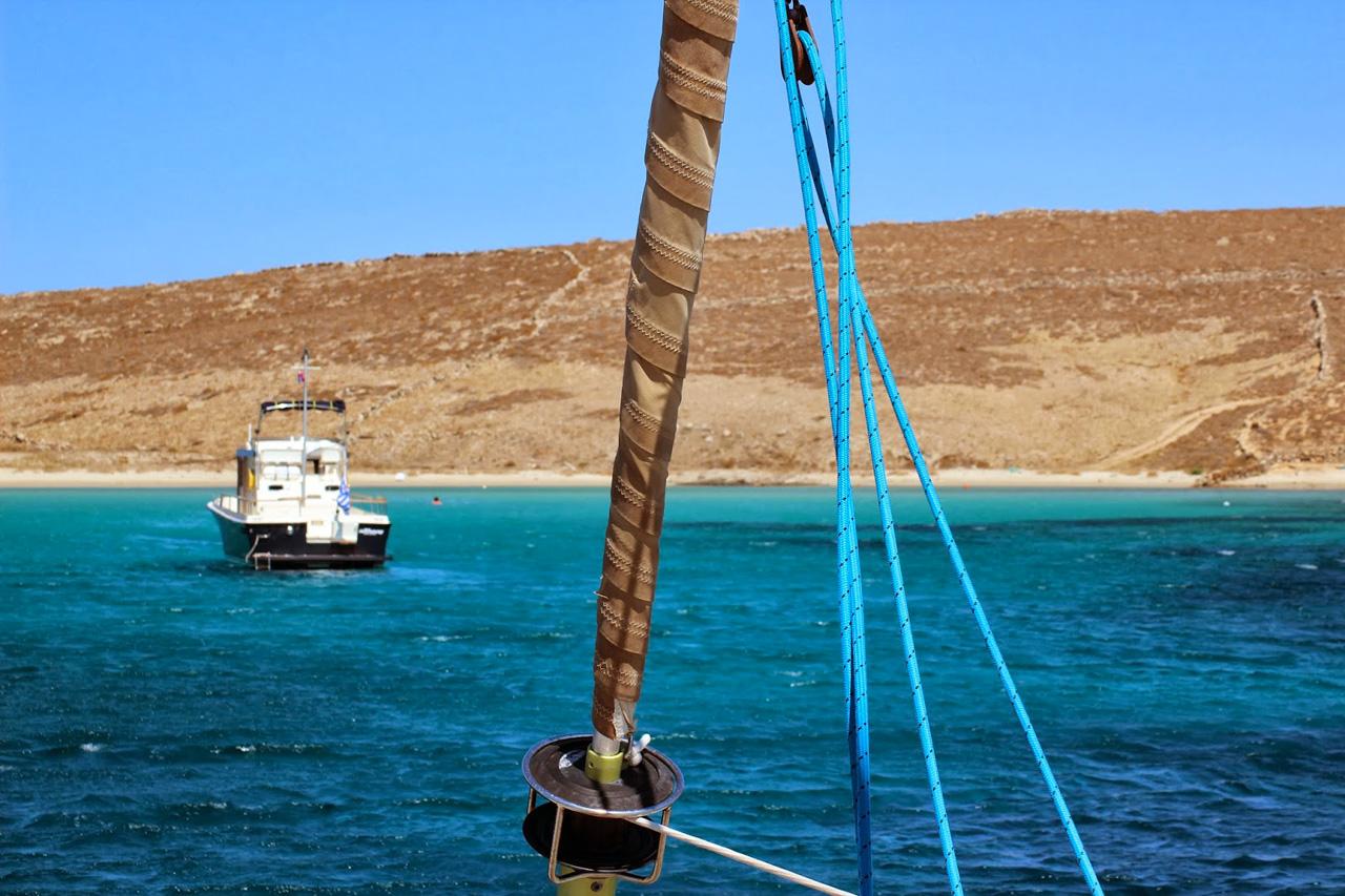 Arrivée sur Mykonos