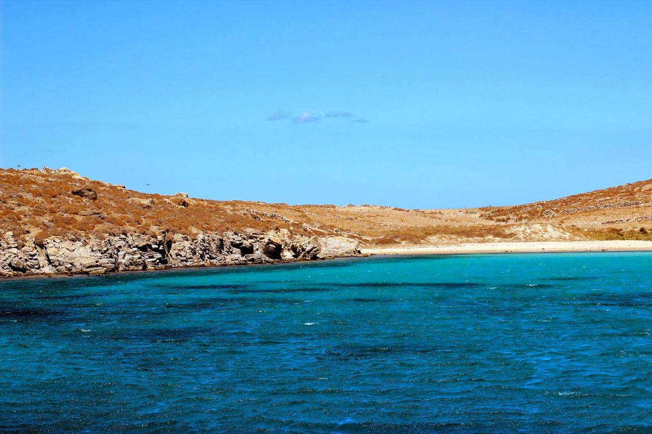 Arrivée à Keros dans les petites Cyclades