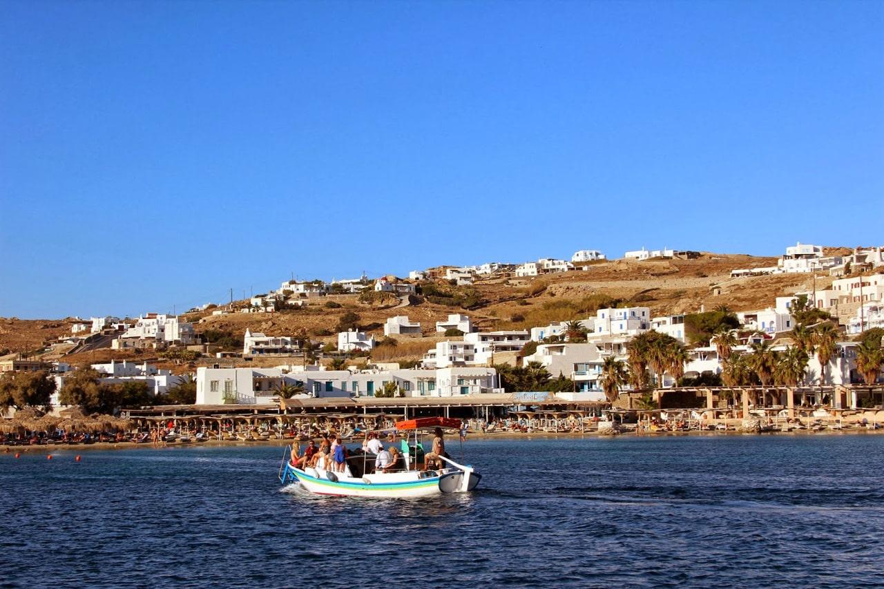 Mykonos - baie d'Ornos
