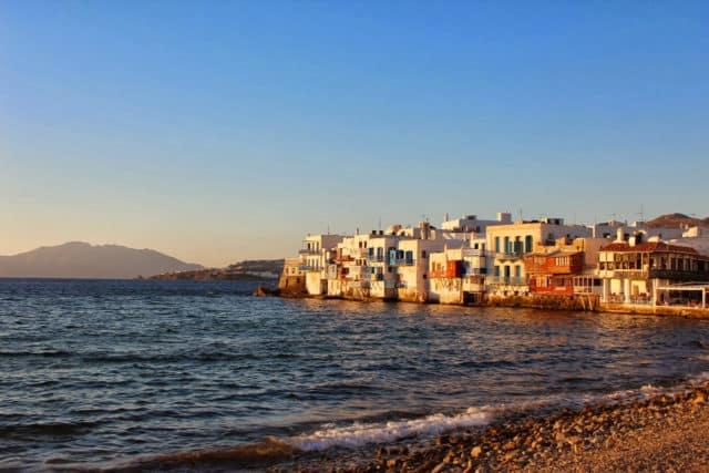 Mykonos, Grèce - La petite venise