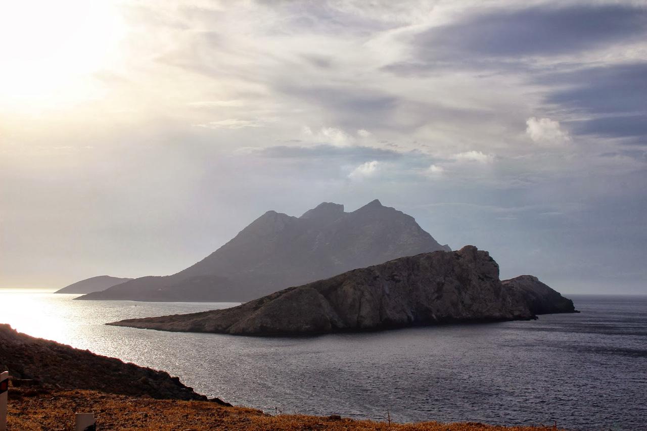 Amorgos - Vue sur la baie d'Agios Giorgios