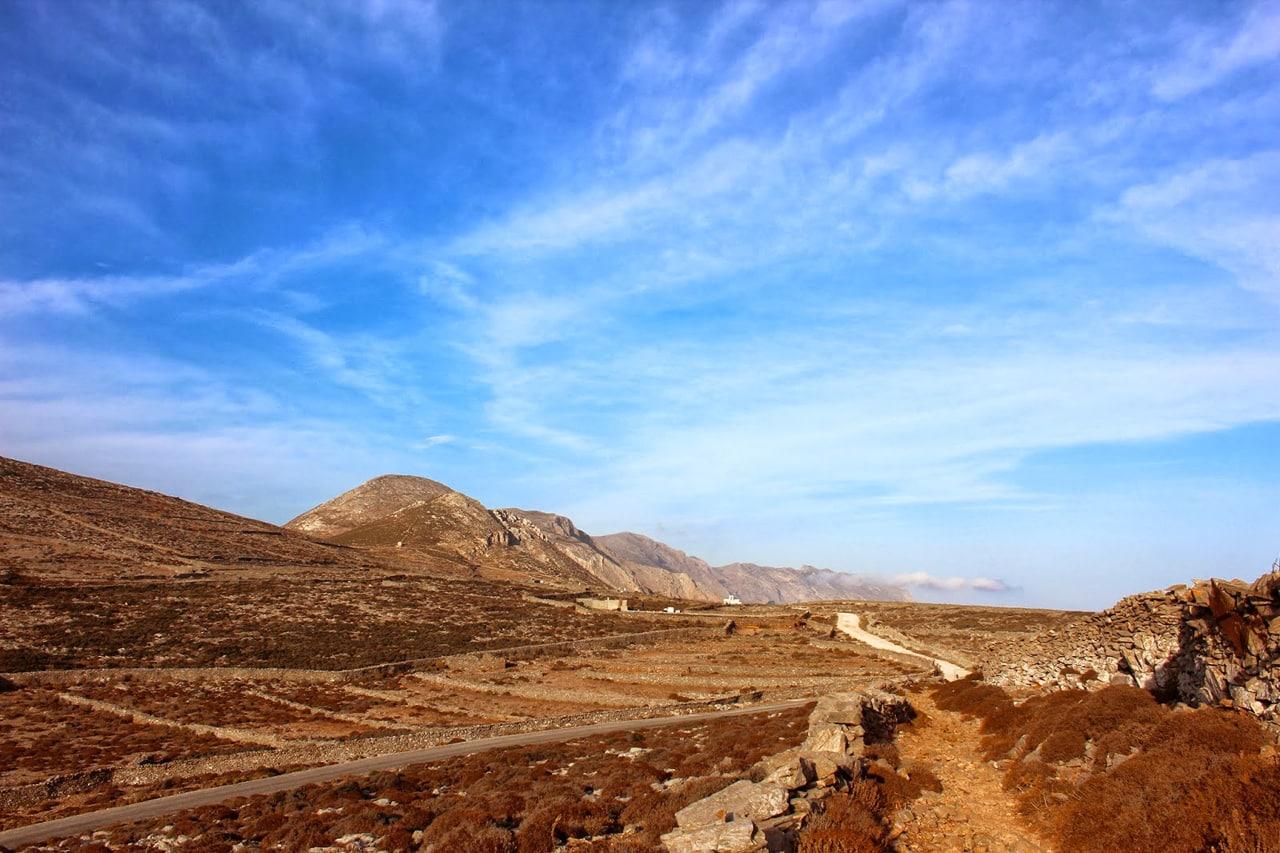 Amorgos - route autour de la Chora