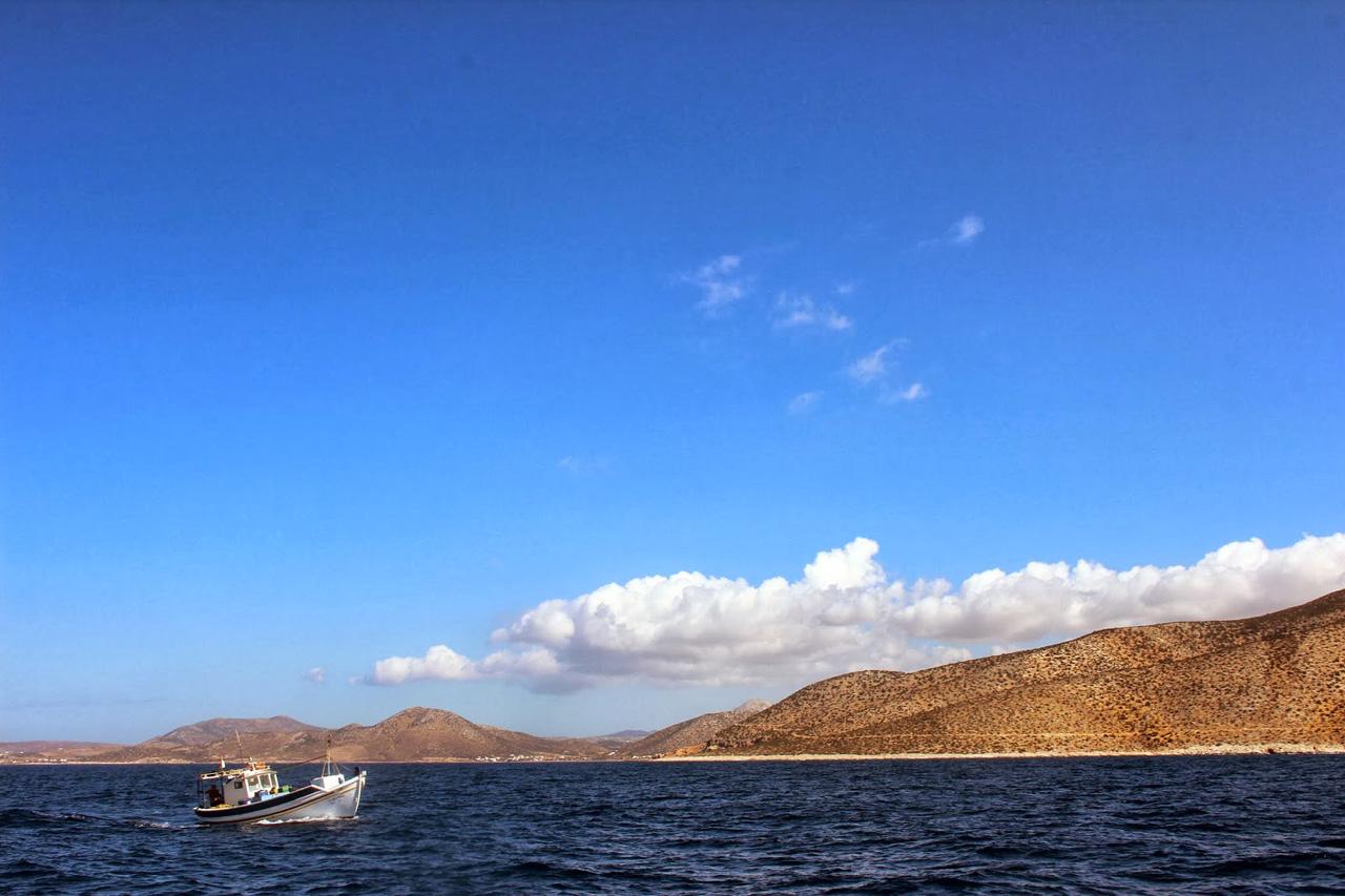 La baie d'Antiparos
