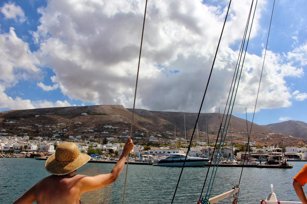 Retour sur Paros, Cyclades