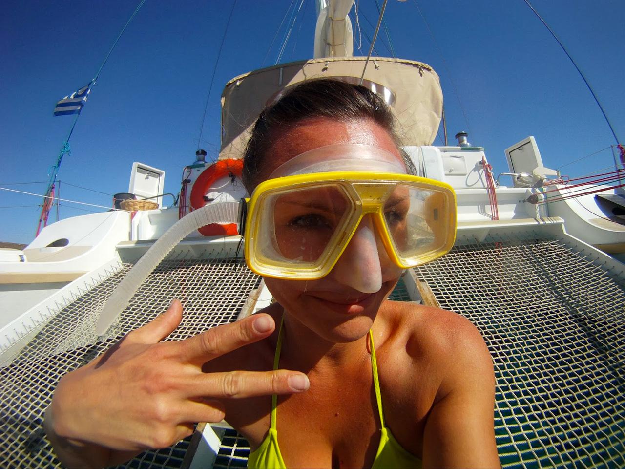 Elise et la plongée sous marine