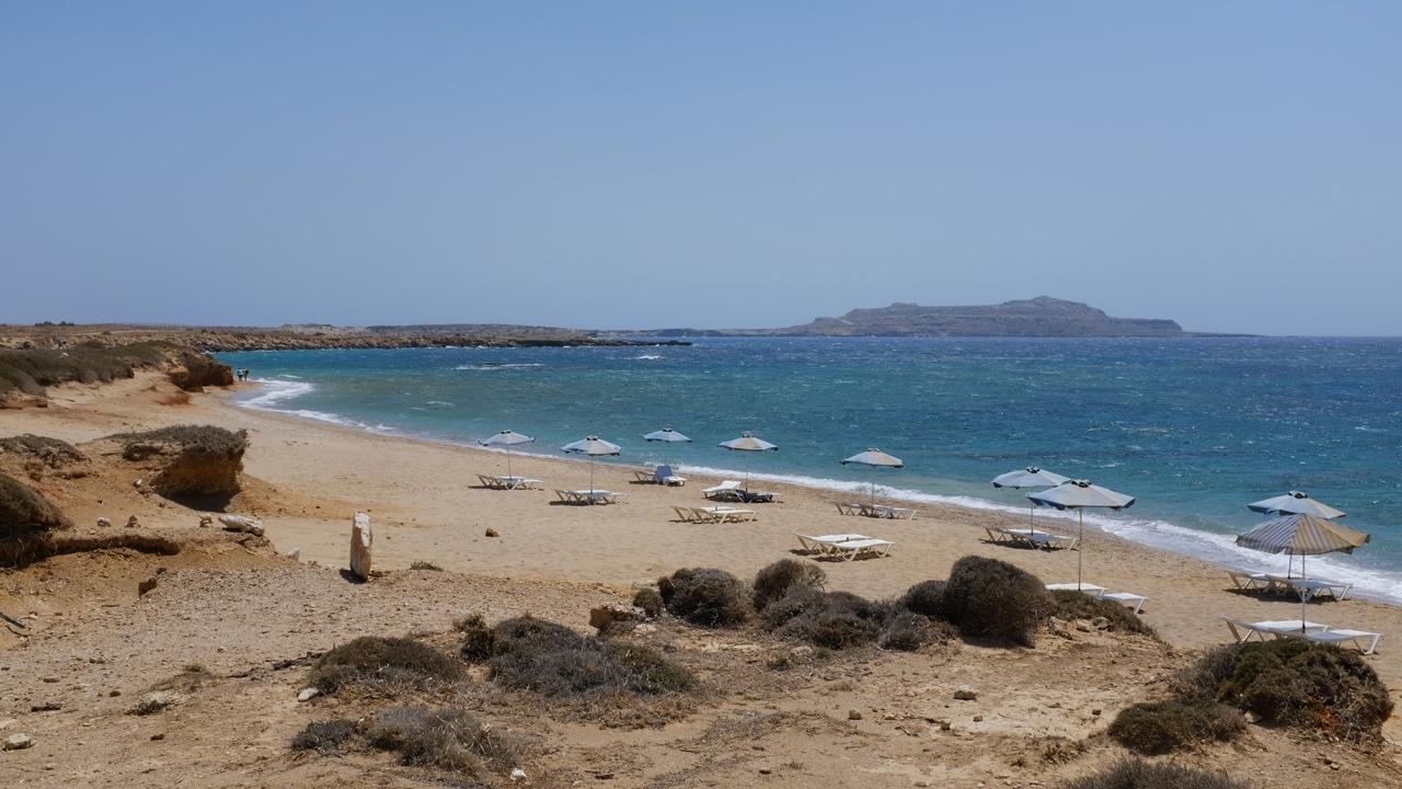 Karpathos, Dodécanèse, Grèce: la plage de Akrotiri