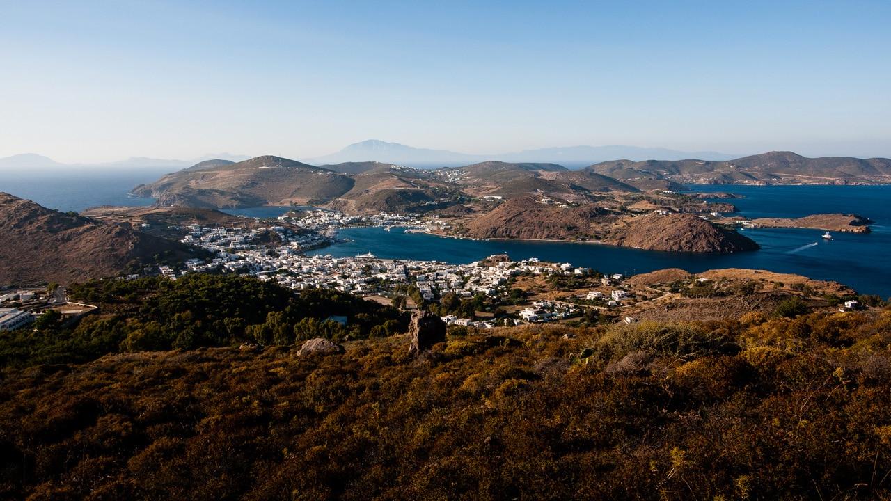 Vue sur Patmos