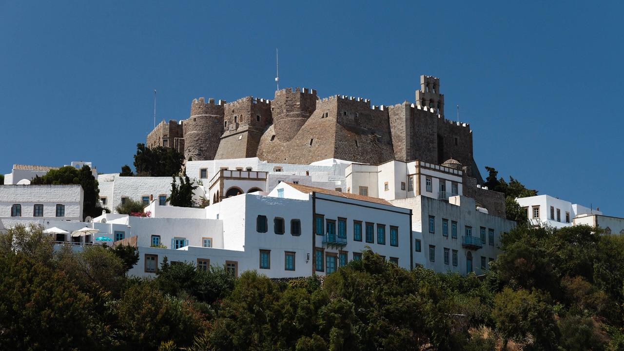 Patmos - Monastère Saint-Jean-le-Théologien