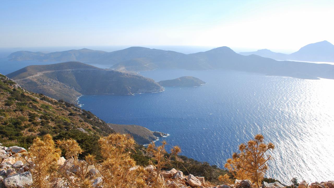 Fourni, iles du nord-est de la mer Egée - Panorama