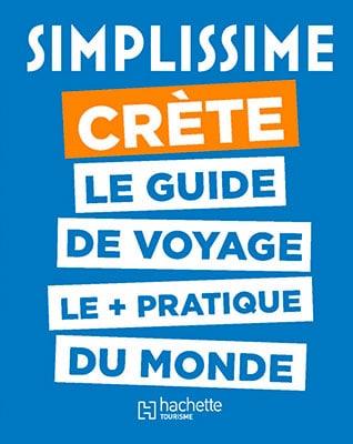 Couverture guide simplissime crète Hachette tourisme