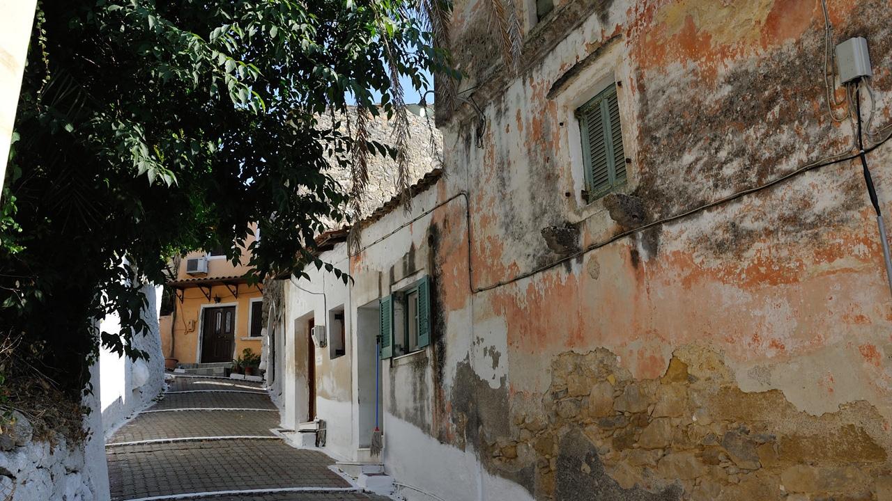 Corfou, Grèce - Vue sur la ville ville de Corfou / Kerkyra