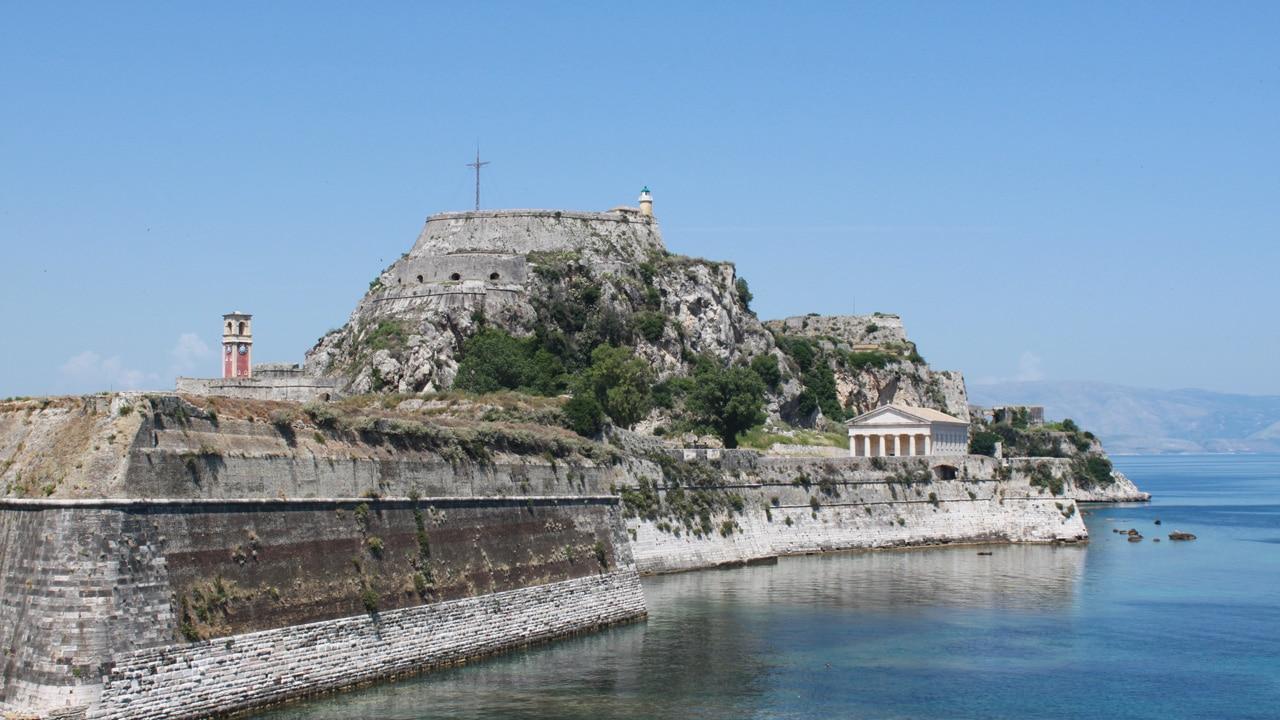 Corfou, Grèce - La citadelle de Corfou